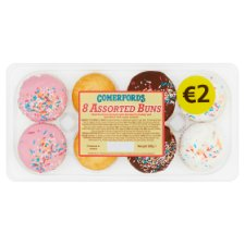 Comerfords 8 Assorted Buns 200G