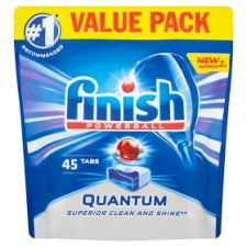 Finish Quantum Dishwasher Tablets Regular 45S