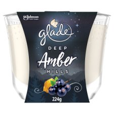 Glade Large Candle Deep Amber Hills 224G