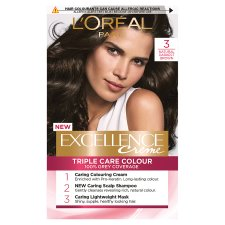 L'oreal Paris Excellence 3 Darkest Brown