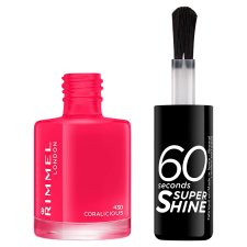 Rimmel Nailpolish 60 Seconds Coralicious 8Ml