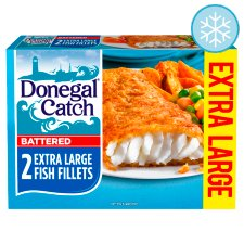 Donegal Catch Extra Large Battered Fish Fillets 300G