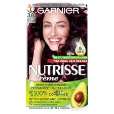 Garnier Nutrisse 3.6 Deep Reddish Brown Prmt H/Dye