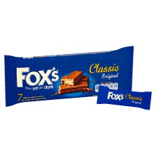 Fox's Classic Biscuit Bars 7 Pack 179G