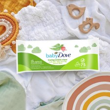 Baby Dove Wipes 75Pc Biodegradable