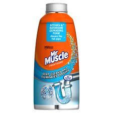 Mr Muscle Drain Foamer 500Ml