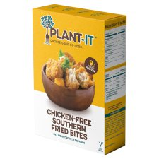 Plant-It Chicken Free Southern Fried Bites 200G