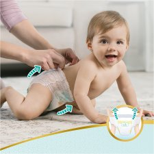 Pampers Premium Protection Pants Size 4 47 Nappies Jumbo Pack