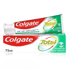 Coloured Total Advanced Pure Breath Toothpaste 75Ml