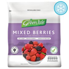 Green Isle Mixed Berries 375G