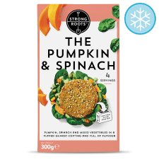 Strong Roots The Pumpkin And Spinach Burger 300G
