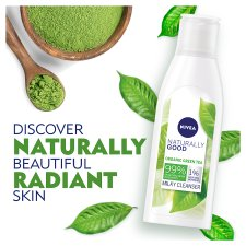 Nivea Naturally Good Organic Grn/T Milky Face Cleanser 200Ml