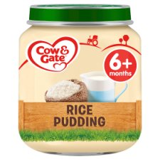 Cow And Gate Rice Pudding Jar 125G 6 Mth+