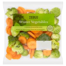 Tesco Winter Vegetables 480G