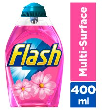 Flash Liquid Gel Blossom And Breeze 400Ml All Purpose Cleaner
