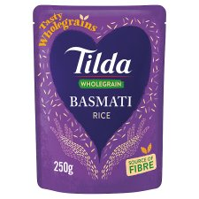 Tilda Brown Steamed Basmati Rice Clsc 250G