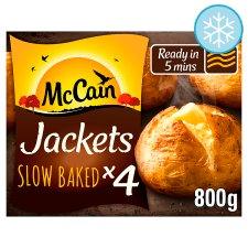 Mccain Ready Baked Jackets 4 Pack 800G