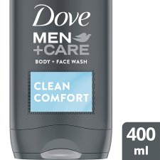 Dove Men+ Clean Comfort Face And Body Wash 400Ml