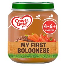 Cow And Gate My First Bolognaise Jar 125G 4 Mth+