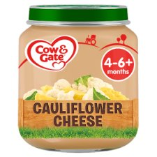 Cow & Gate Cauliflower Cheese 4 Month+ 125G Jar