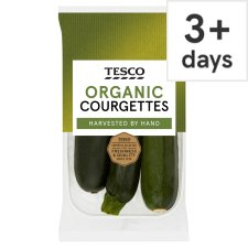 Tesco Organic Courgettes 3 Pack