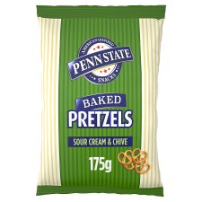 Penn State Sour Cream And Chive Pretzels 175G