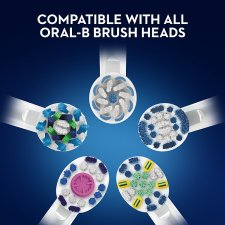 Oral-B Cross Action Replacement Electric Toothbrush Heads 8