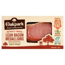 Oak Park Smoked Bacon Medallions 170G
