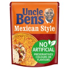 Unc Bens Microwave Mexican Style Rice 250G