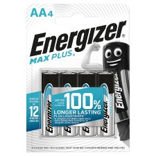 Energizer Max Plus Aa 4 Pack
