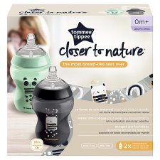 Tommee Tippee Closer To Nature Decorative Bottles 260Ml X2