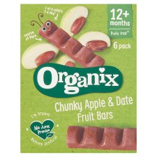 Organix Apple And Date 6X17g