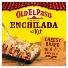 Old El Paso Cheesy Baked Enchlda Kit 663G