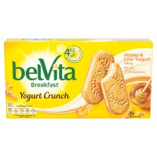 Belvita Honey Yoghurt Crunch 253G