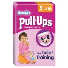 Huggies Pull Ups Girl Potty Training Pants 16 Pack Small