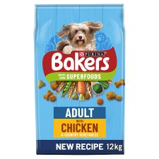 Bakers Adult Chicken And Vegetable 12Kg