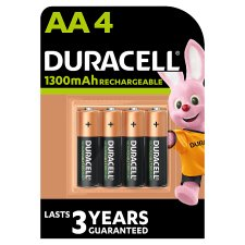 Duracell Recharge Plus Aa 4 Pack