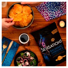 Sensations Onion And Balsamic Vinegar Crisps 150 G