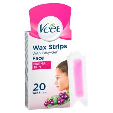 Veet Ready To Use Wax Strips Face 20'S