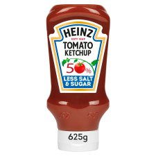 Heinz Tomato Ketchup 50% Less Salt And Sugar 625G