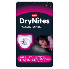 Drynites Girl Pyjama Pant Age 3-5 Years 10 Pants