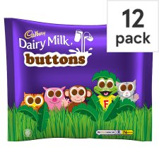 285692803: Cadbury Dairy Milk Buttons Chocolate Treat Size Minis 12 Pack 170G