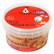 Pip And Pear Cheesy Chicken Pasta 200G