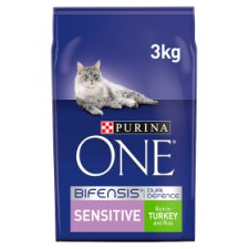 Purina One Sensitive Turkey And Rice 3Kg