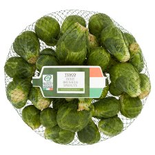 Tesco Brussels Sprouts 500G