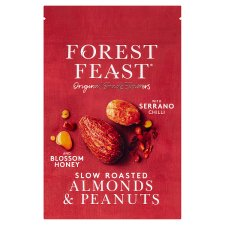 Forest Feast Honey And Chilli Almonds And Peanuts 120G