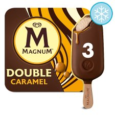 Magnum Double Caramel Ice Cream 3 X88ml