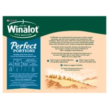 Winalot Perfect Portion Dog Food Mixed In Jelly 12X100g