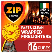 Zip Fast And Clean 16 Indiv Wrapped