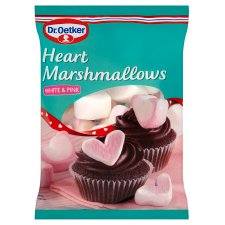 Dr.Oetker Heart Shaped Mallows 100G